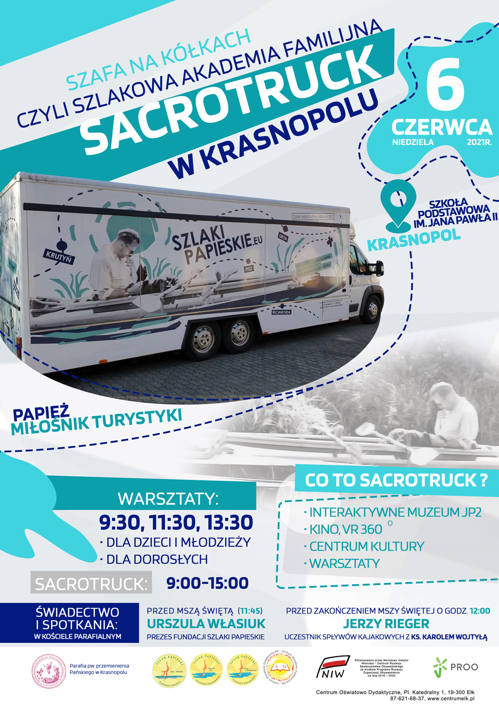 Sacrotruck w Krasnopolu
